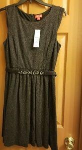 NWT Black Glittery Holiday party dress